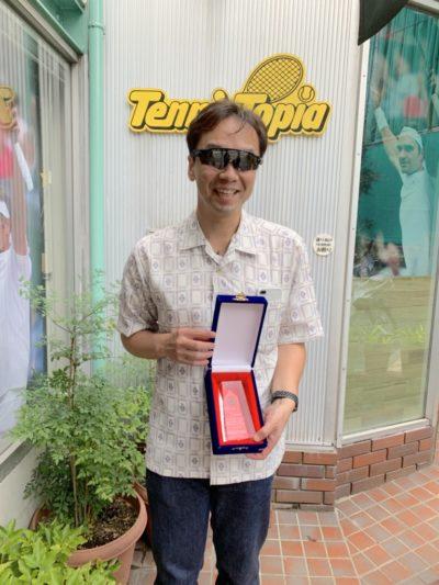 ブラインドテニスの岩下さんが韓国でまた優勝